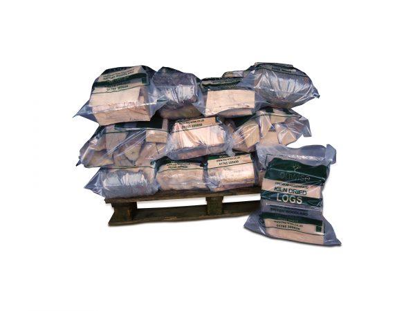 Kiln dried logs 30 carry bags