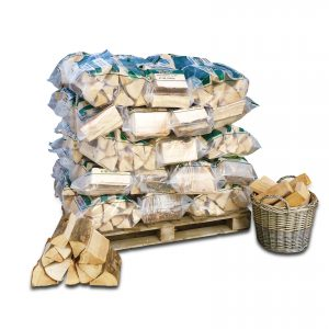 Kiln Dried Logs. 50 carry bags